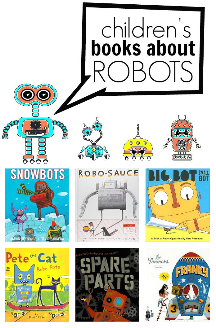 robot books for kids