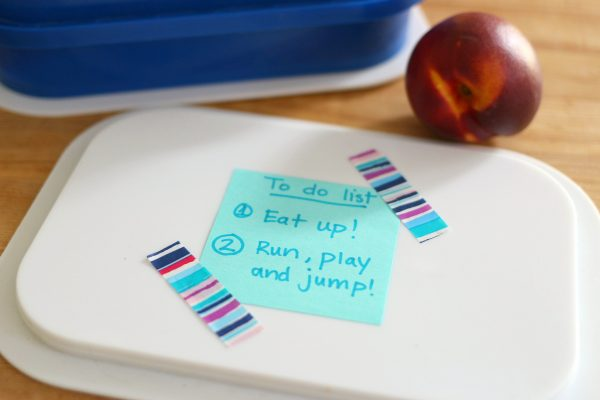 sight words lunch box notes from no time for flash cards #makeitstick