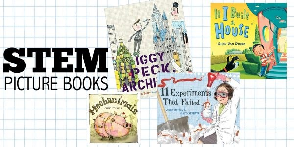 stem books for little kids