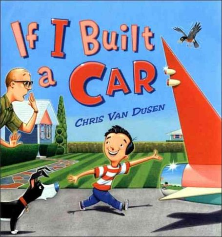 stem books for preschool if i built a car