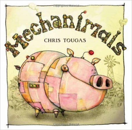 stem books mechanimals