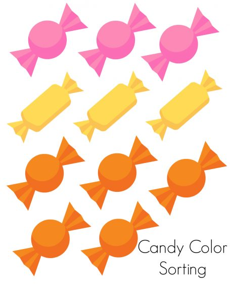 Candy Color Sorting