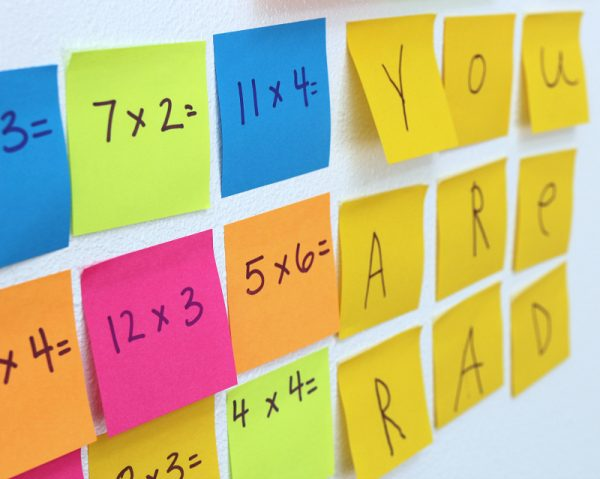 Post-it Notes Math Activity For Kids #makeitstick