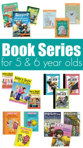 6 Book Series For Kindergarten