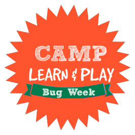 Camp Learn & Play – BUG WEEK!