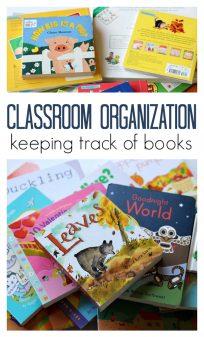 classroom organization for preschool