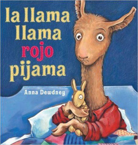 llama llama red pajama in spanish