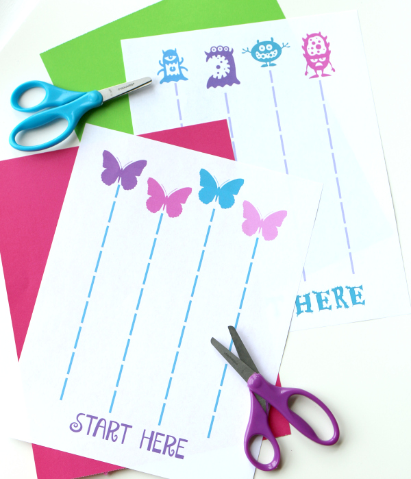 FREE printable cutting sheets