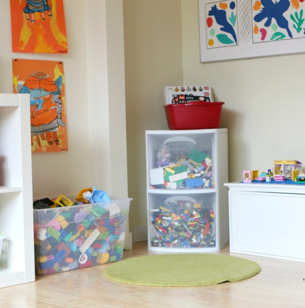 lego nook for maker space at home