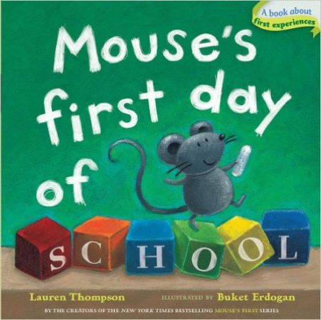 mouse's first day