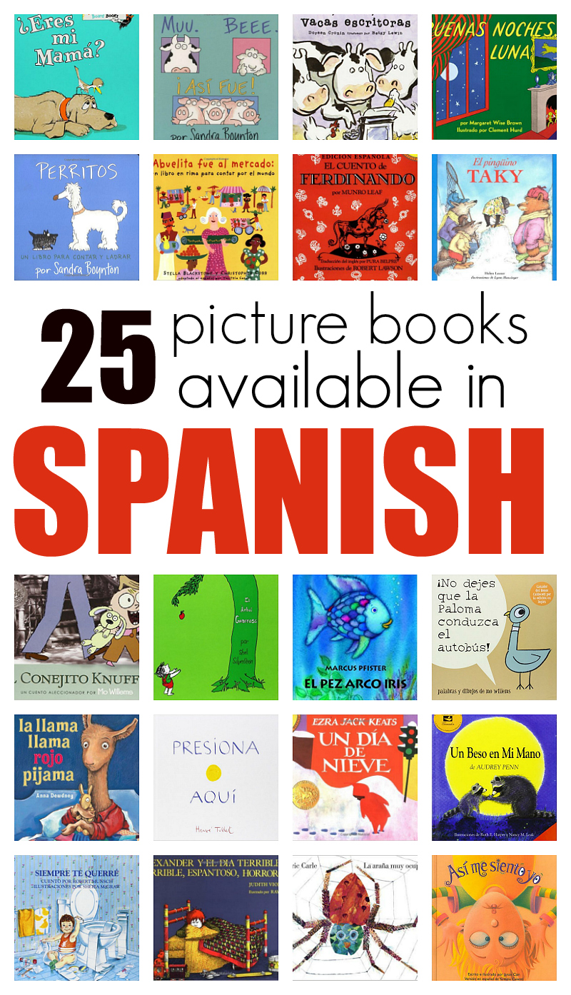25 Great Picture Books In Spanish