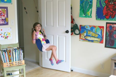 playrooms with swings