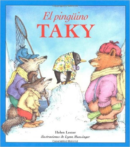 tacky the penguin spanish