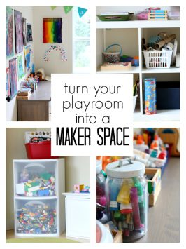 How to turn your playroom into a maker space