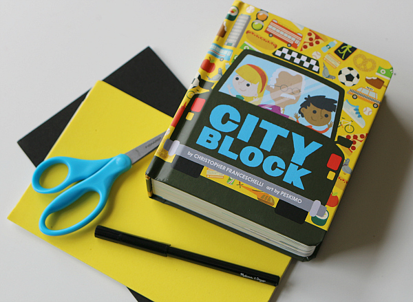 city block book and activity