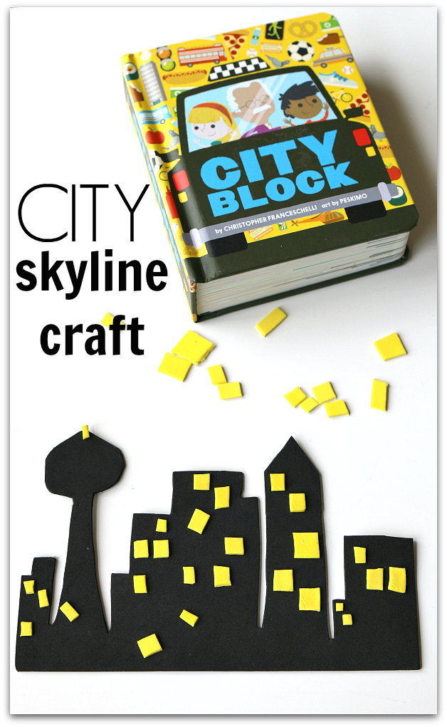 City Blocks book craft