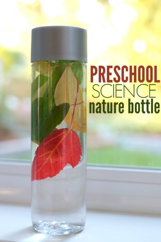 Preschool science activities - great for 2-5 year olds.