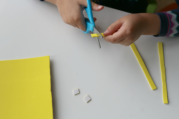 skyline craft for kids city blocks