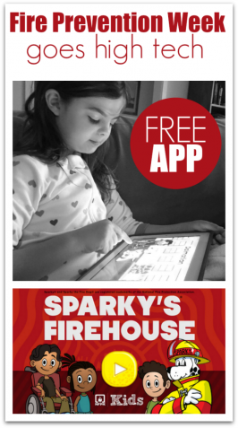 Fire Prevention Week Goes High Tech!