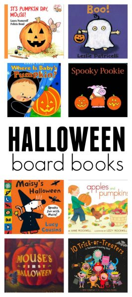 Halloween Board Books For 2 and 3 year olds