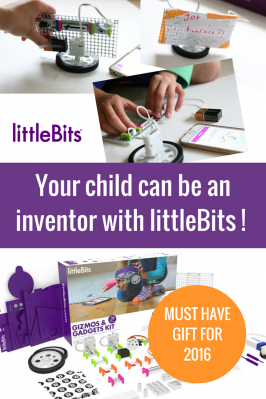 High Tech DIY Thanksgiving Centerpiece with littleBits ( and sweepstakes!)