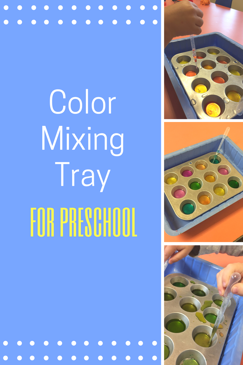 Coloring instruments mixing - Color Mixing Tray