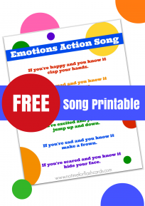Emotions action song for preschoolers. Teach empathy through self awareness and emotional recognition.
