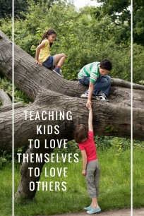 Teaching Empathy - teaching children to love themselves to better appreciate differences and people different from them.