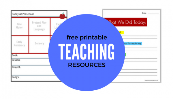 free-printable-teaching-resources