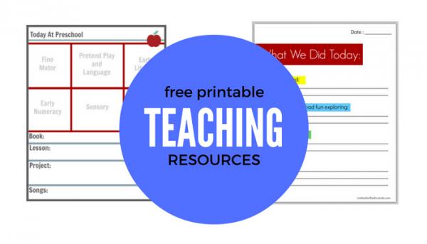 free-printable-teaching-resources