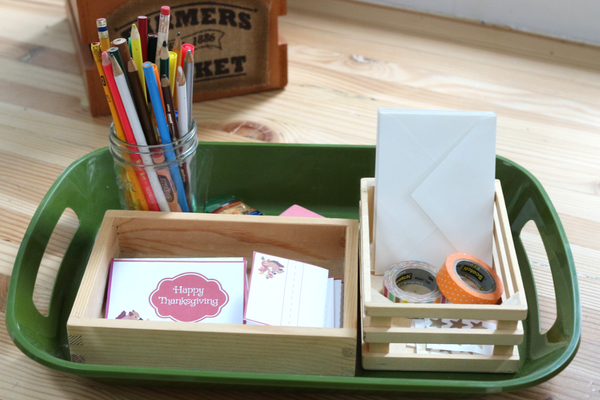 writing center ideas for PreK