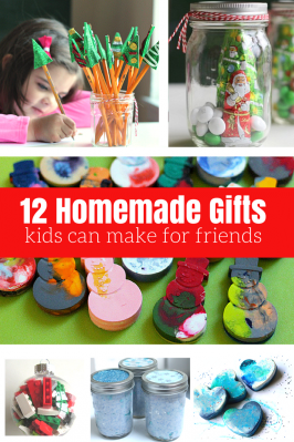 12 Homemade Gifts Kids Can Help Make For Friends and Neighbors.