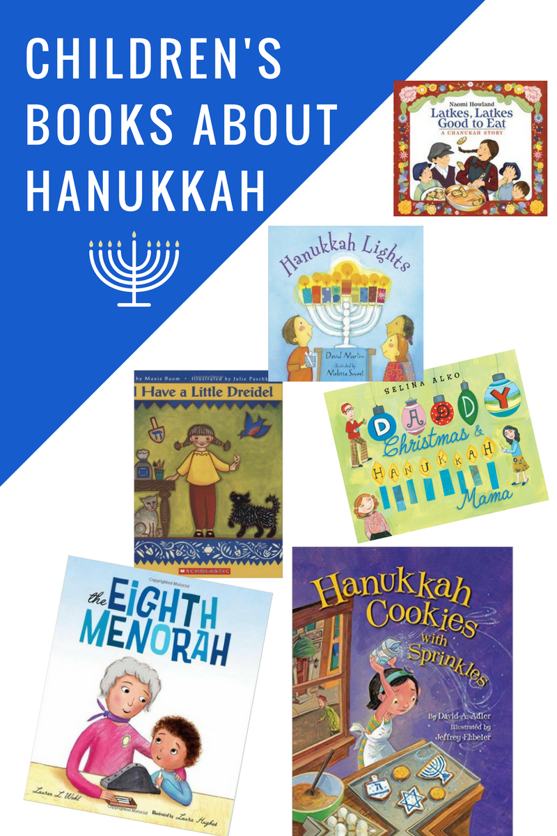 Childrens Books About Hanukkah Book List By No