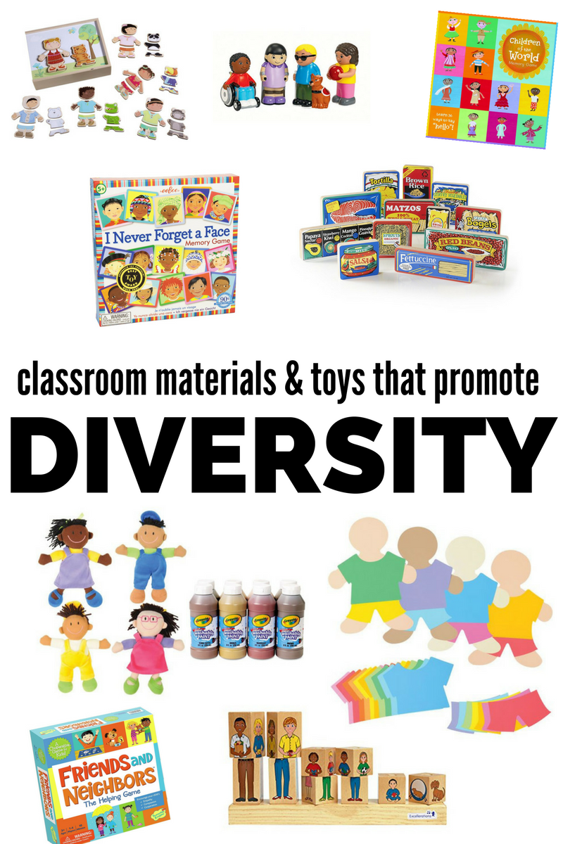 Diverse Toys on Worksheets For Preschool My Family