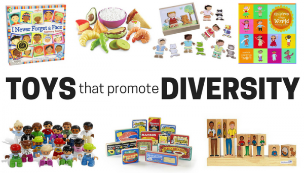 diverse toys for kids, great toys that promote diversity and inclusion