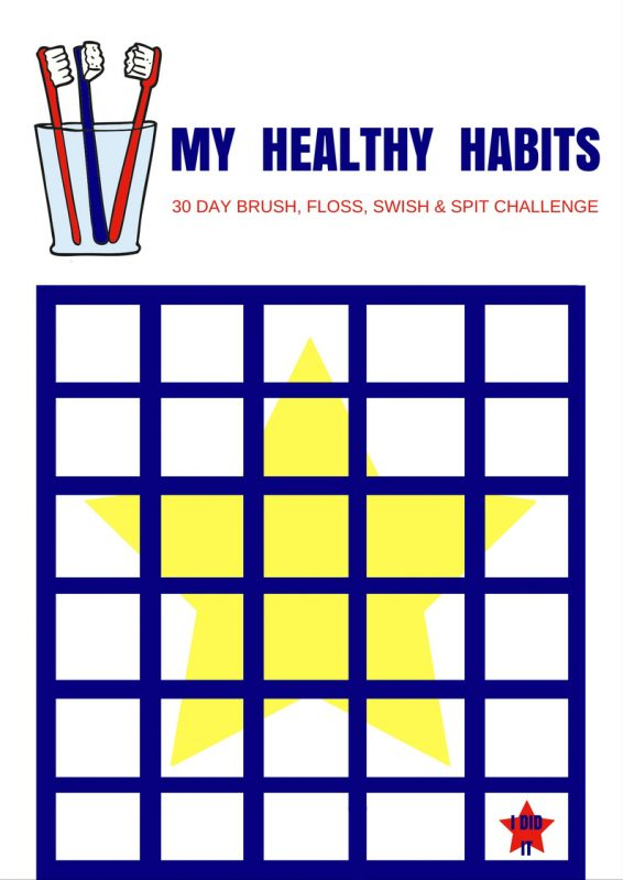 Healthy Habits Challenge and FREE Printable Sticker Chart ...