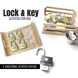 lock and key activities for kids