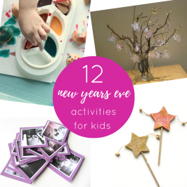 12 New Years Eve Activities For Young Kids