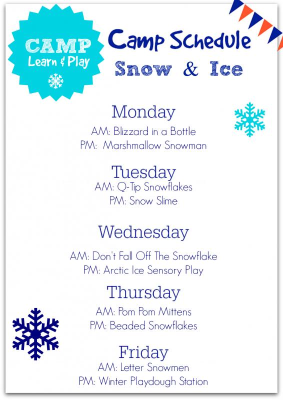 winter break activities for kids