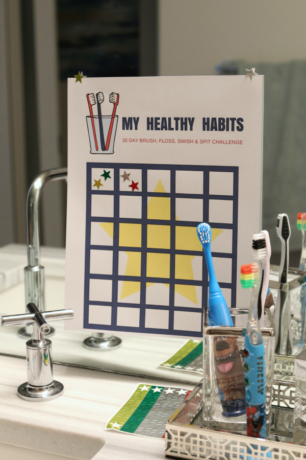 healthy-habit-chart