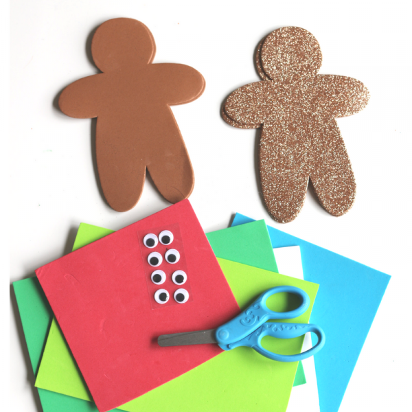 no-glue-gingerbread-man-craft