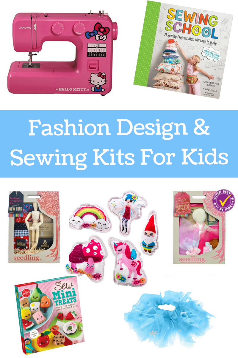 Maker Gifts Fashion Design And Sewing Kits For Kids No Time For Flash Cards