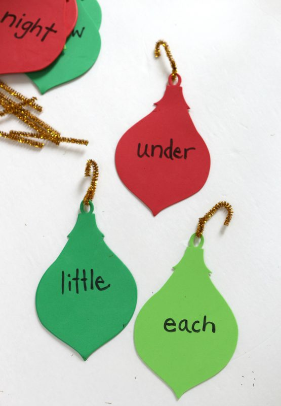sight-word-ornaments