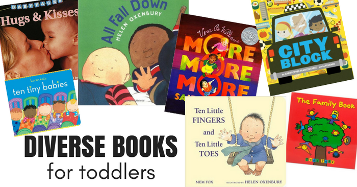 Diverse Books For Toddlers No Time For Flash Cards