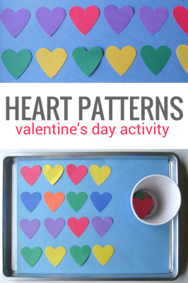 Paper Heart Patterning Activity