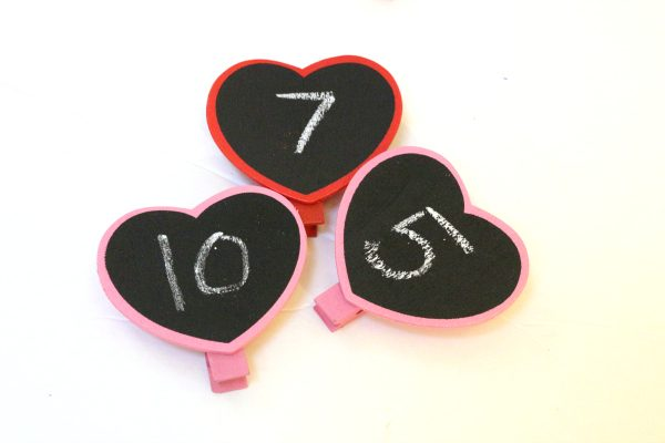 Math ideas for Valentine's day