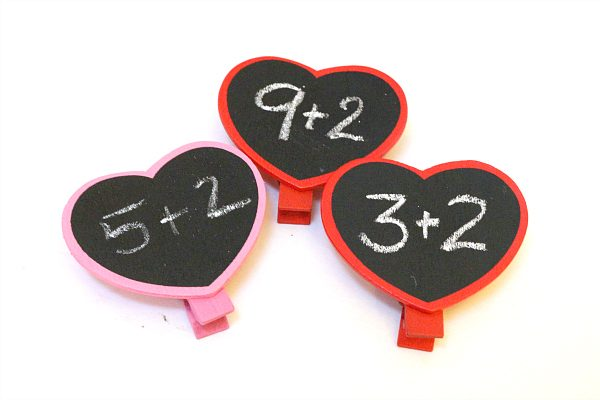 Valentine's Day Math center ideas