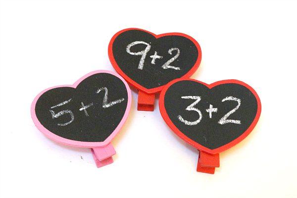Valentine's Day Math center ideas