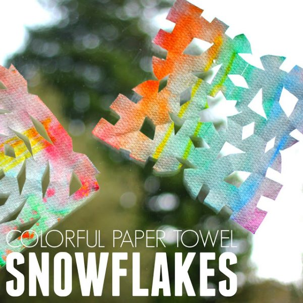 colorful-paper-towel-snowflakes-square