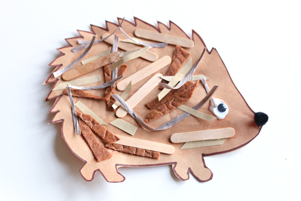 hedgehog-craft-for-jan-brett-the-hat